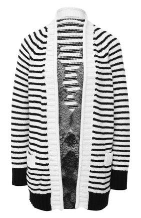 Женский кардиган PHILOSOPHY DI LORENZO SERAFINI черно-белого цвета, арт. A0904/703 | Фото 1
