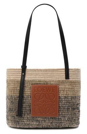 Женский сумка basket LOEWE серого цвета, арт. A223099X04   Фото 1