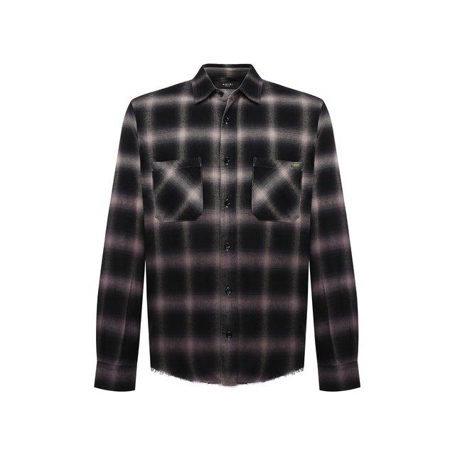 Рубашка из хлопка и вискозы Amiri