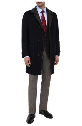 Мужские кожаные оксфорды SANTONI черного цвета, арт. MCPH17555RB2IVVDN01 | Фото 2