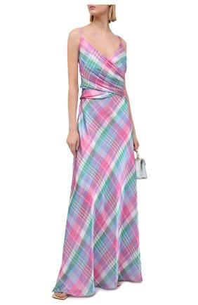Женское платье RALPH LAUREN разноцветного цвета, арт. 290798052   Фото 2