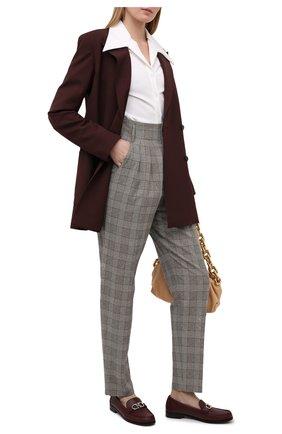 Женские брюки ISABEL MARANT бежевого цвета, арт. PA1559-21P009I/MAGALI   Фото 2