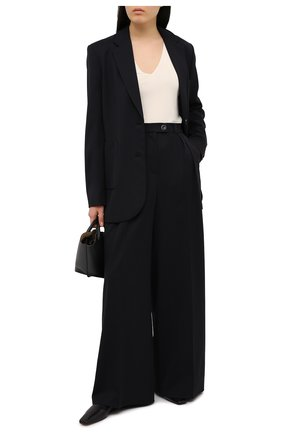 Женский шерстяной жакет LESYANEBO черного цвета, арт. FW20/H-569 | Фото 2