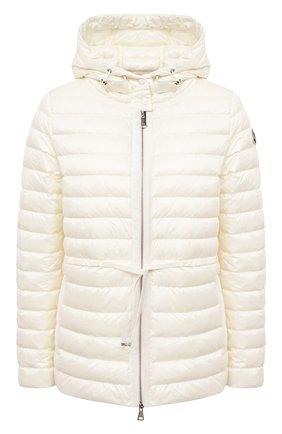 Женский пуховая куртка MONCLER светло-бежевого цвета, арт. G1-093-1B103-00-53048 | Фото 1