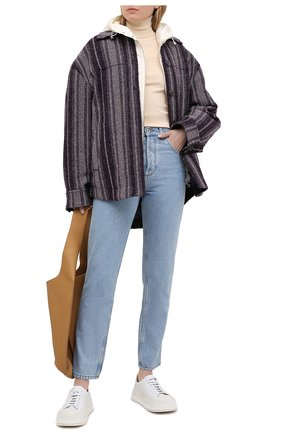 Женский пуховая куртка MONCLER светло-бежевого цвета, арт. G1-093-1B103-00-53048 | Фото 2