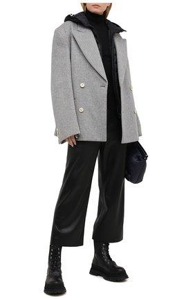Женский пуховый жилет MONCLER черного цвета, арт. G1-093-1A129-00-5396Q   Фото 2