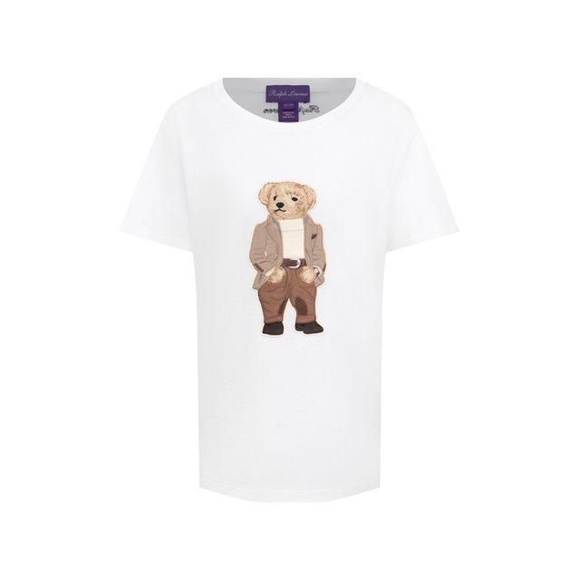 Хлопковая футболка Ralph Lauren