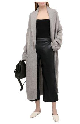 Женский кашемировый кардиган RALPH LAUREN серого цвета, арт. 293829125 | Фото 2