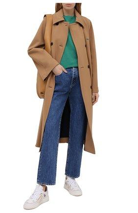 Женские джинсы 3X1 синего цвета, арт. WP0370866/RIVER BLUE | Фото 2