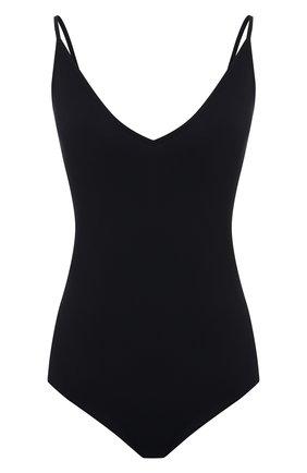 Женское боди JIL SANDER черного цвета, арт. JSPS705043-WS477108 | Фото 1