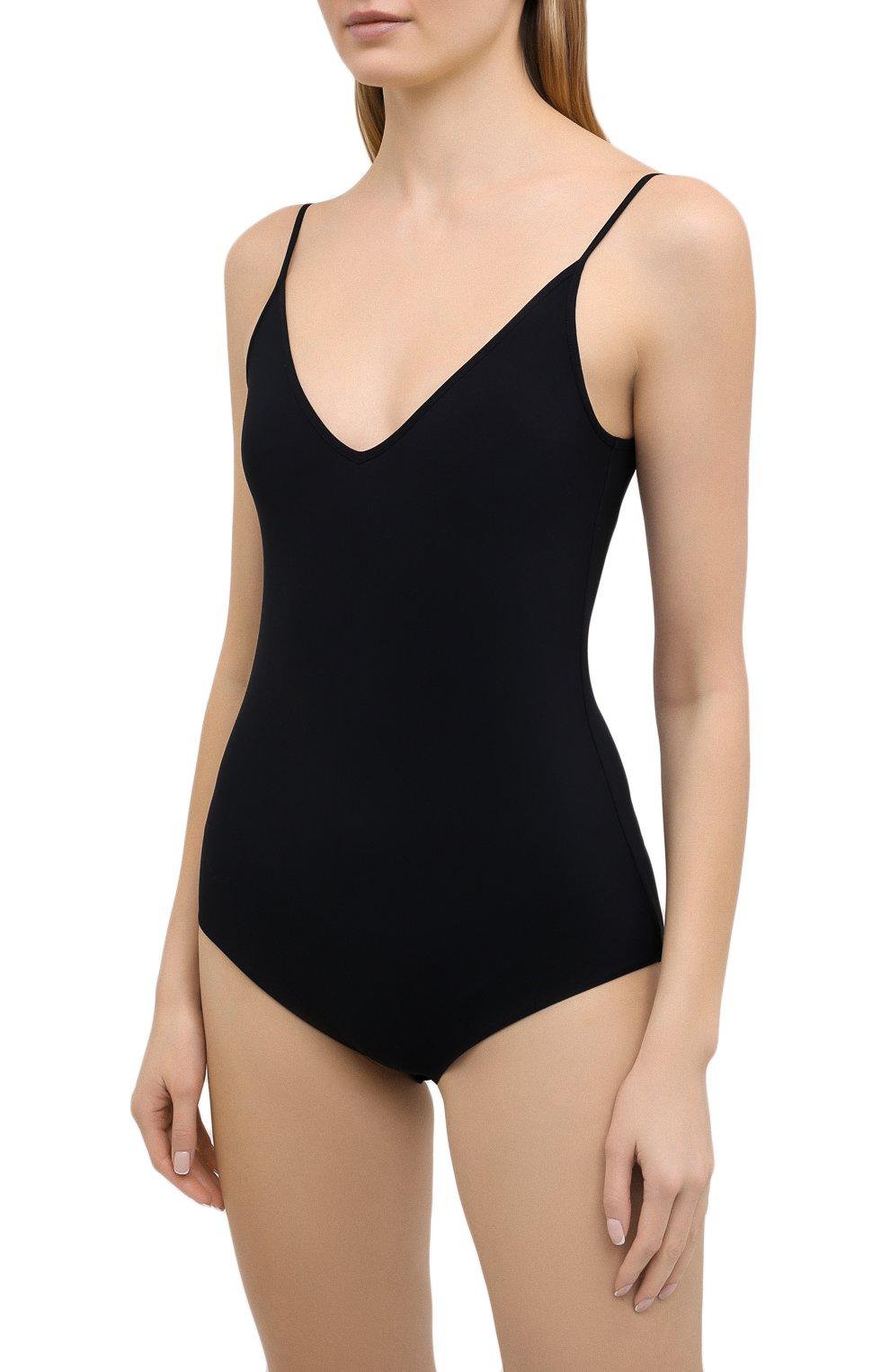Женское боди JIL SANDER черного цвета, арт. JSPS705043-WS477108 | Фото 3