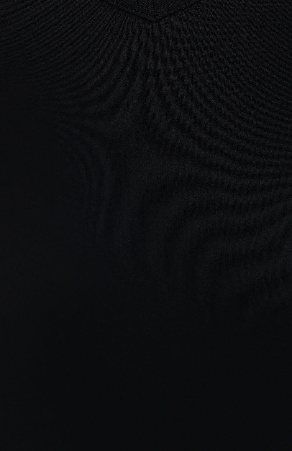 Женское боди JIL SANDER черного цвета, арт. JSPS705043-WS477108 | Фото 5