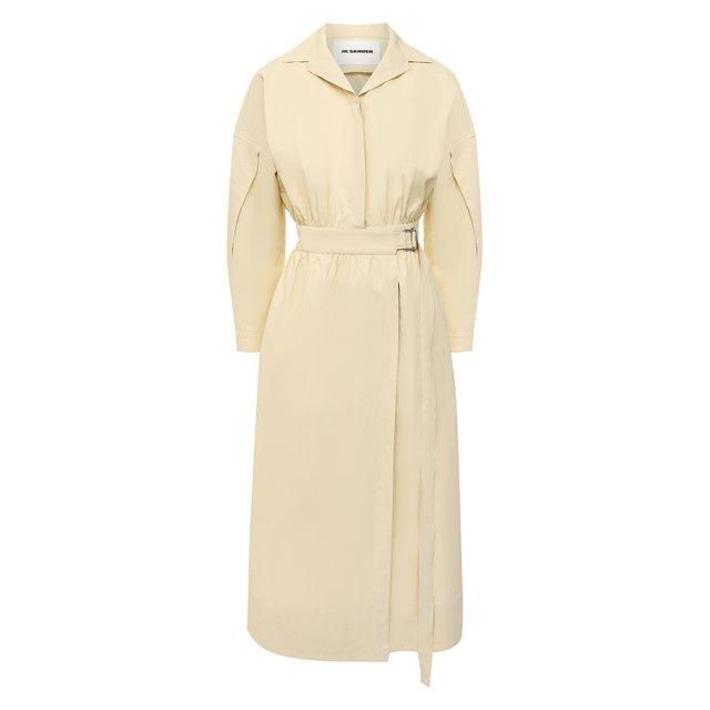 Льняное платье Jil Sander