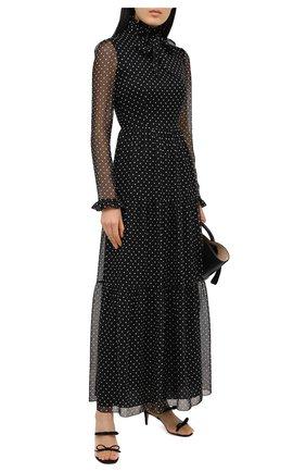 Женское платье PHILOSOPHY DI LORENZO SERAFINI черного цвета, арт. V0433/739 | Фото 2