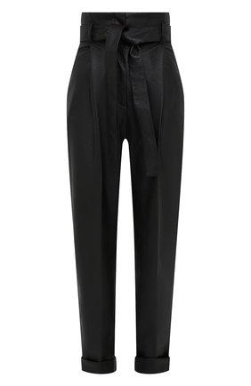 Женские брюки из вискозы PHILOSOPHY DI LORENZO SERAFINI черного цвета, арт. V0303/740 | Фото 1