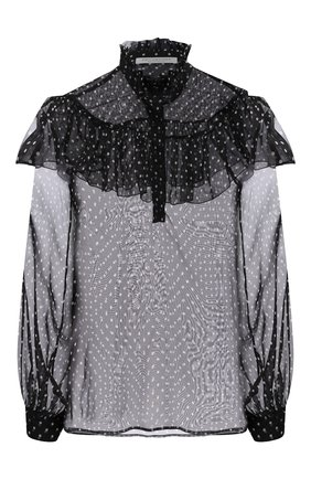 Женская блузка PHILOSOPHY DI LORENZO SERAFINI черного цвета, арт. V0209/739 | Фото 1