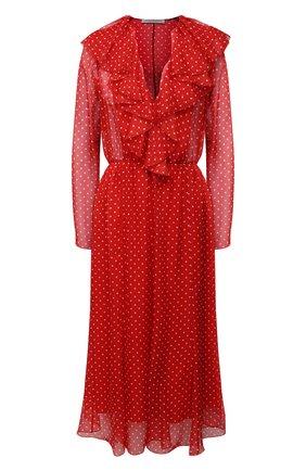 Женское платье PHILOSOPHY DI LORENZO SERAFINI красного цвета, арт. A0432/739 | Фото 1