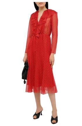 Женское платье PHILOSOPHY DI LORENZO SERAFINI красного цвета, арт. A0432/739 | Фото 2