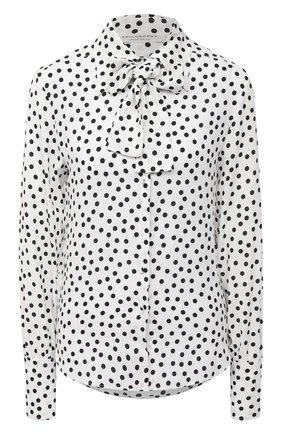 Женская блузка из вискозы PHILOSOPHY DI LORENZO SERAFINI черно-белого цвета, арт. A0215/734 | Фото 1
