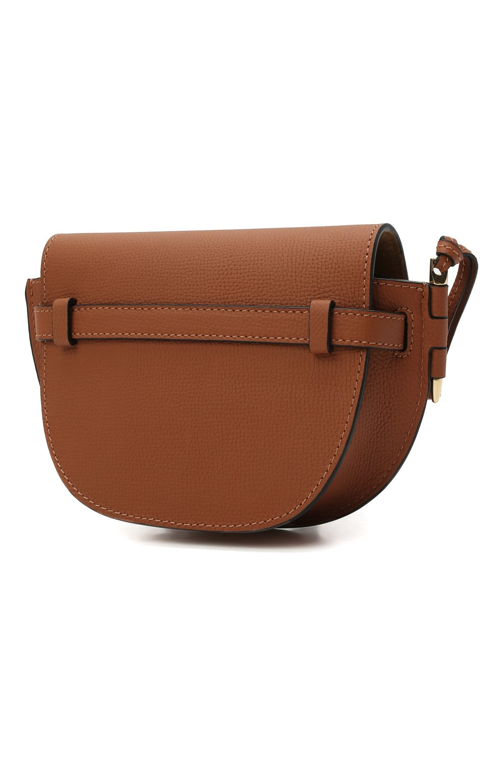 Женская сумка gate mini LOEWE коричневого цвета, арт. A650N46X02 | Фото 3