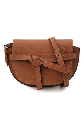 Женская сумка gate mini LOEWE коричневого цвета, арт. A650N46X02 | Фото 5