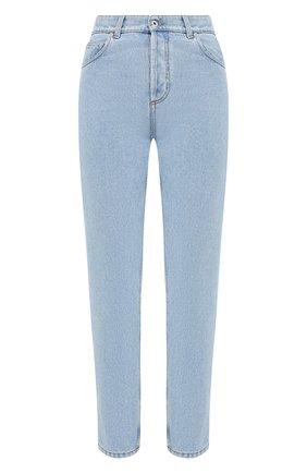 Женские джинсы LOEWE голубого цвета, арт. S359331XCN | Фото 1