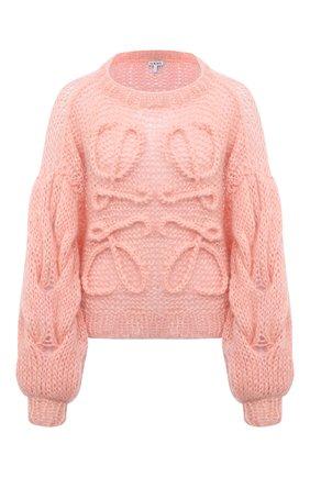 Женский свитер LOEWE розового цвета, арт. S817Y14K21 | Фото 1