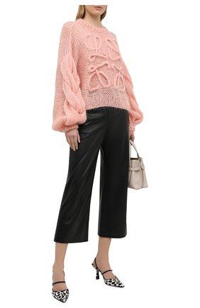 Женский свитер LOEWE розового цвета, арт. S817Y14K21 | Фото 2