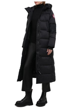 Женский пуховик alliston CANADA GOOSE черного цвета, арт. 5088L | Фото 2