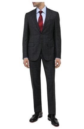 Мужские кожаные монки SANTONI черного цвета, арт. MCLI17503JA2IHMLN01 | Фото 2