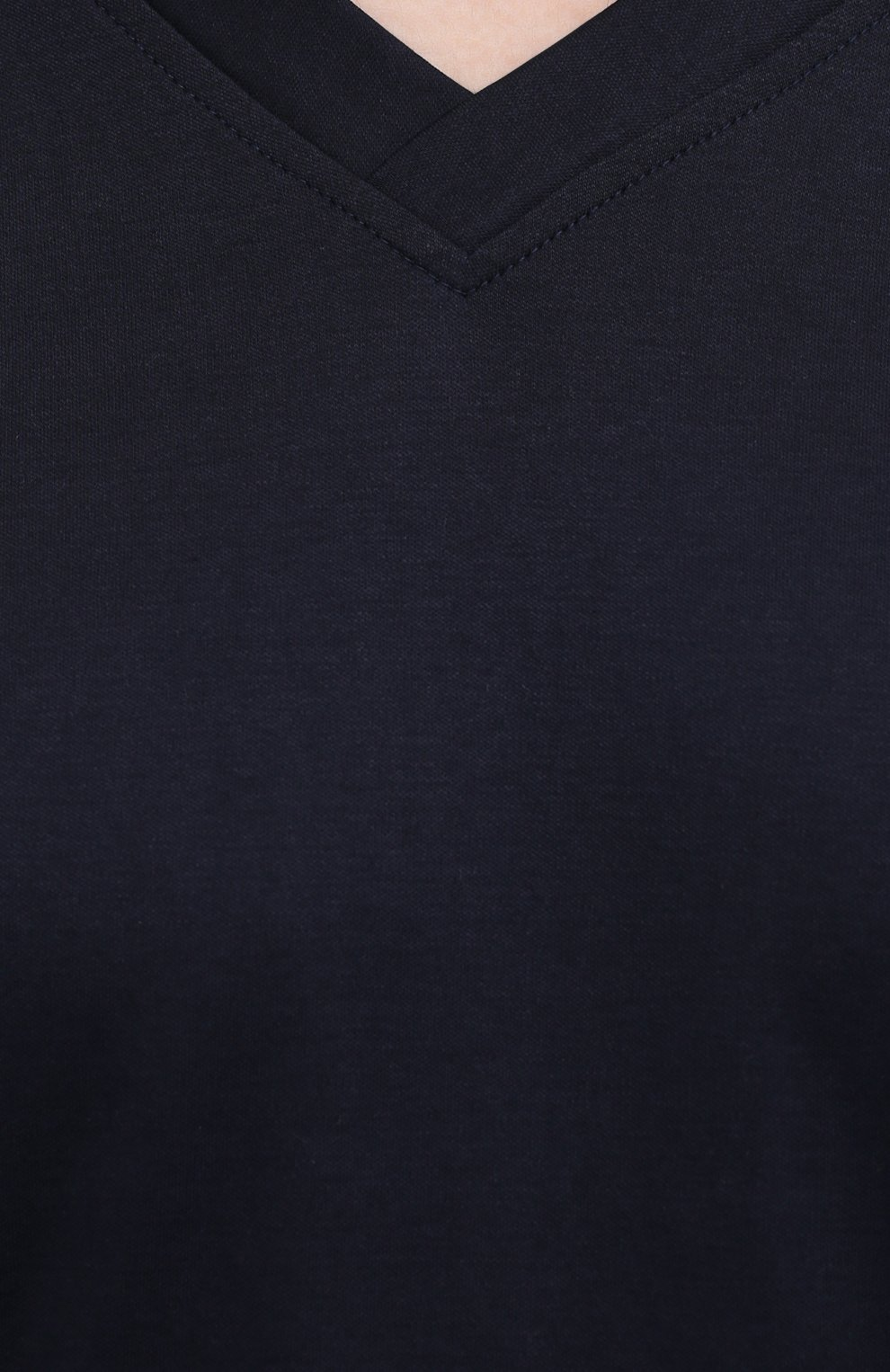 Мужская хлопковый лонгслив ZIMMERLI темно-синего цвета, арт. 3460-95302 | Фото 5 (Рукава: Длинные; Кросс-КТ: домашняя одежда; Длина (для топов): Стандартные; Материал внешний: Хлопок; Мужское Кросс-КТ: Футболка-белье)