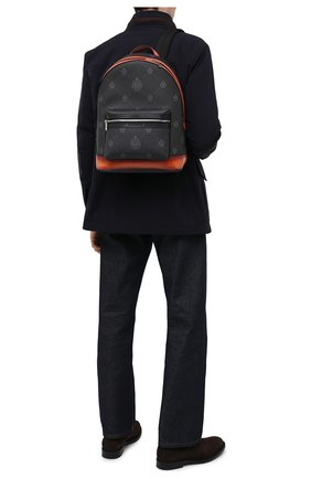 Мужской рюкзак BERLUTI черного цвета, арт. M214770 | Фото 2