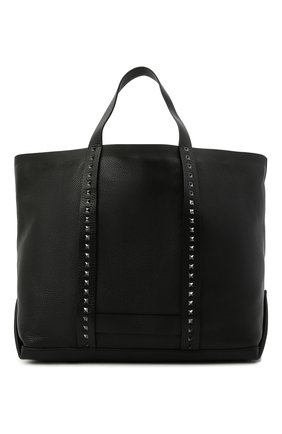 Мужская кожаная сумка-шопер VALENTINO черного цвета, арт. VY2B0A43/SXP   Фото 1