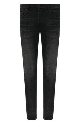 Мужские джинсы DIESEL черного цвета, арт. 00SPW5/0098B | Фото 1