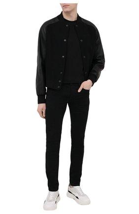 Мужские джинсы DIESEL черного цвета, арт. 00SWJF/069EI | Фото 2