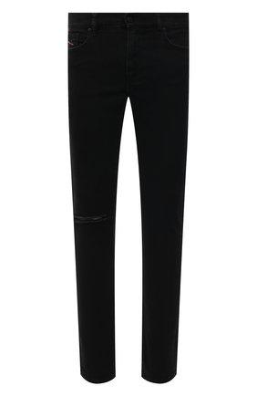 Мужские джинсы DIESEL черного цвета, арт. A00712/084ZN | Фото 1