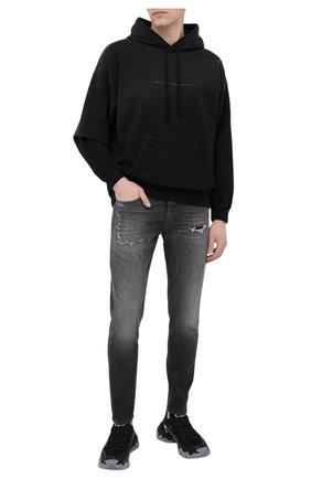 Мужские джинсы DIESEL серого цвета, арт. A01017/009QT | Фото 2