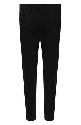 Мужские джинсы DIESEL черного цвета, арт. A01695/0688H | Фото 1