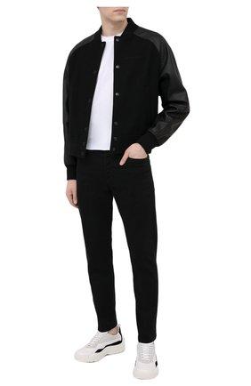 Мужские джинсы DIESEL черного цвета, арт. A01695/0688H | Фото 2