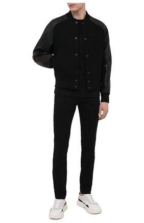 Мужская футболка DIESEL черного цвета, арт. A01851/0GRAM | Фото 2