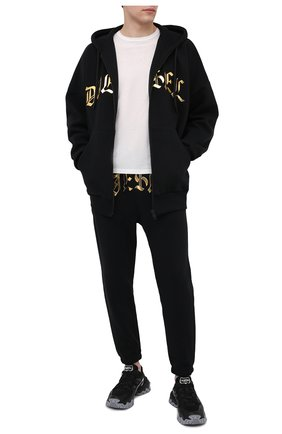 Мужские джоггеры DIESEL черного цвета, арт. A01979/0KAZW | Фото 2