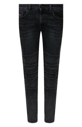 Мужские джинсы DIESEL темно-синего цвета, арт. A02081/069TG | Фото 1