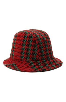 Мужская шерстяная панама GUCCI красного цвета, арт. 640876/4HABN | Фото 2