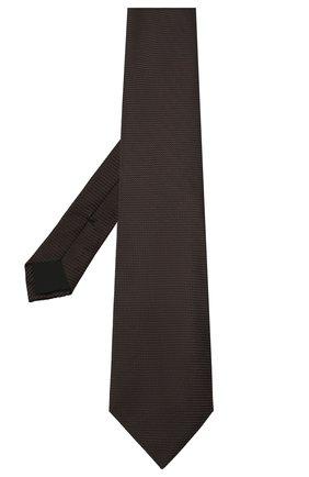 Мужской шелковый галстук TOM FORD коричневого цвета, арт. 9TF07/XTF | Фото 2