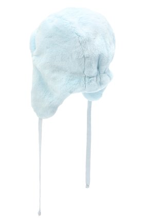Детского шапка-ушанка CHOBI голубого цвета, арт. WH-3011 | Фото 2