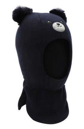 Детского шапка-балаклава CHOBI синего цвета, арт. WH-3092 | Фото 1