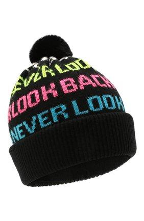 Детского шапка CHOBI черного цвета, арт. WH-3070   Фото 1