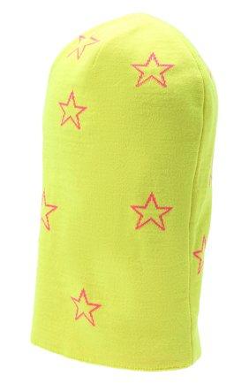 Детского шапка-балаклава CHOBI желтого цвета, арт. WH-3037   Фото 2