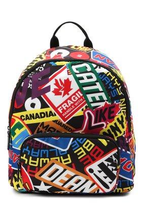 Детская рюкзак DSQUARED2 разноцветного цвета, арт. DQ0140-D005V | Фото 1