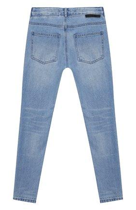 Детские джинсы STELLA MCCARTNEY синего цвета, арт. 602323/SQK17 | Фото 2